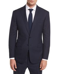 Ralph Lauren - Two-button Wool Plaid Suit - Lyst