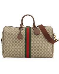 27c427945 Gucci Tian Gg Supreme Boston Bag - Lyst