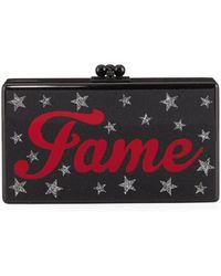 Edie Parker - Fame Jean Acrylic Clutch Bag - Lyst