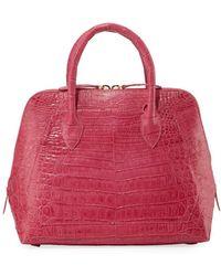 Nancy Gonzalez - Small Crocodile Zip-top Dome Bag - Lyst