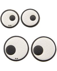 Anya Hindmarch - Leather Eye Stickers For Handbag - Lyst