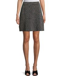M Missoni - Space-dyed A-line Knit Skirt - Lyst