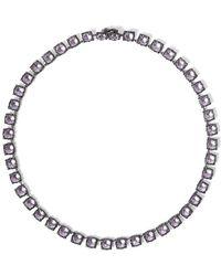 Larkspur & Hawk - Bella Small Riviere Necklace - Lyst