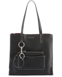 Marc Jacobs - The Bold Grind Pebbled Shopper Tote Bag - Lyst