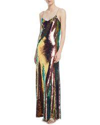 Libertine - Sequined Sleeveless Slip Gown - Lyst