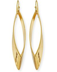 Auden - Talon 14k Gold-plated Earrings - Lyst