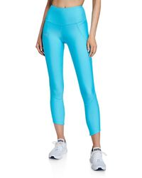 Under Armour Fly Fast Cropped Active Tights - Blue