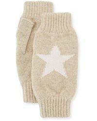 Rosie Sugden Star Intarsia Wrist Warmers - Multicolor