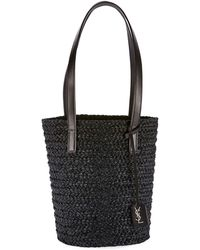 919151a88fa Saint Laurent Ysl Cabas Chyc Perforated Large East West Bag in ...