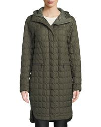 The North Face - Thermoball Insulated Duster Coat W/ Hood - Lyst