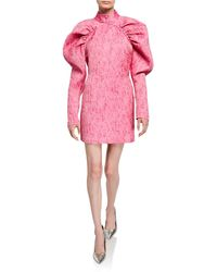 ROTATE BIRGER CHRISTENSEN Pink Mini Dress