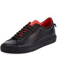 Givenchy - Men's Urban Street Leather Low-top Sneakers - Lyst