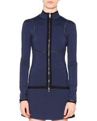 Callens Tech Fabric Track Jacket - Blue