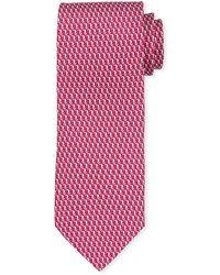 Ferragamo - Bird Silk Tie - Lyst