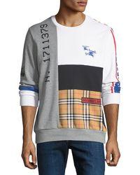 Burberry - Men's Girnley Graphic Sweatshirt - Lyst