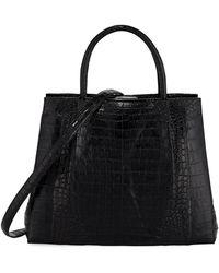 Nancy Gonzalez - Medium Crocodile Carryall Tote Bag - Lyst