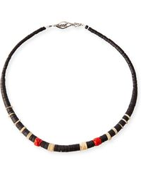 Saint Laurent - Men's Beaded Necklace - Lyst