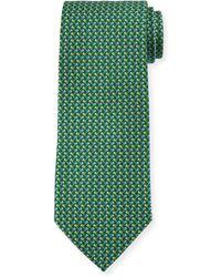 Ferragamo - Flag-pattern Silk Tie - Lyst
