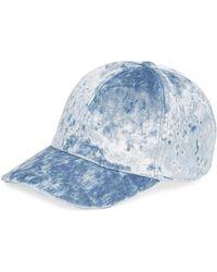 Federica Moretti - Velvet Baseball Cap - Lyst
