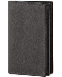Valextra - Leather Business Card Holder - Lyst
