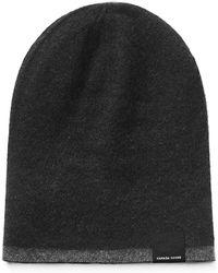 Canada Goose - Men s Reversible Wool Toque Beanie Hat - Lyst 87780361f676