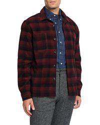Woolrich Men's Classic Shirt Jacket - Red