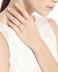 Armenta 18k Rose Gold Sapphire - Blue