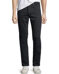 Rag & Bone Men's Fit 2 Mid-rise Slim-fit Jeans - Black