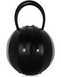 Nita Suri - Pilo Leather Circle Top Handle Bag - Lyst