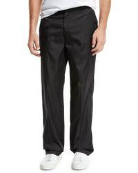 5d527e78 Men's Relaxed Coated Pants - Black