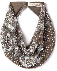 Mignonne Gavigan - Le Charlot Beaded Scarf Necklace - Lyst