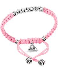 Lagos - Kinder Sterling-silver Macrame Bracelet - Lyst