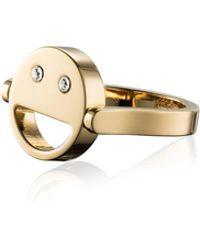 Vita Fede - Sorriso Smiley Face Ring - Lyst