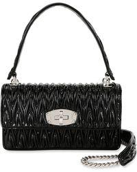 dc9de500b50c Miu Miu - Vernice Matelasse Cleo Top Handle Bag - Lyst