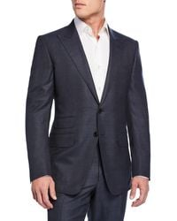 Tom Ford - Men's O'connor Check Wool Two-piece Suit - Lyst