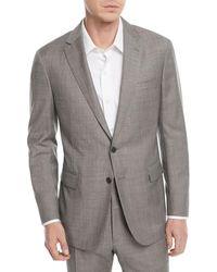 Ralph Lauren Sharkskin Two-piece Wool Suit - Gray