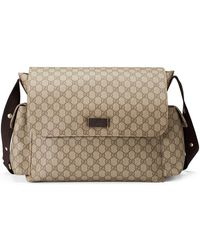 74c1cd6599b2a7 Gucci - Ssima Faux-leather Diaper Bag W/ Changing Pad - Lyst