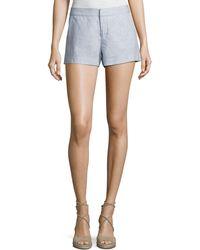 Joie - Merci Linen Shorts - Lyst
