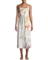 Natori - Nikko Floral-print Nightgown - Lyst