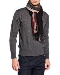 Bally - Men's Trainspotting Wool Scarf - Lyst