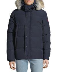 Canada Goose - Wyndam Down Parka With Fur-trim Hood - Lyst