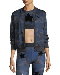 Ultracor - Camo Knockout Zip-front Bomber Jacket W/ Star - Lyst