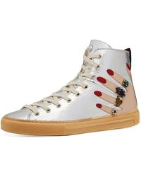 65bf509e3f5a Lyst - Gucci Women s -dapper Dan Sneaker in Brown