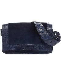 Nancy Gonzalez - Sheared Mink & Crocodile Shoulder Bag - Lyst
