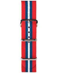 Briston - 20mm Striped Nylon Watch Strap - Lyst
