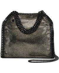 Stella McCartney - Falabella Tiny Metallic Dot Shoulder Bag - Black Hardware - Lyst