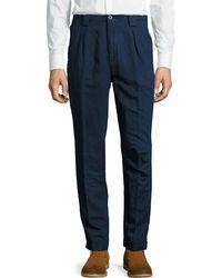 Etro - Panama-fit Dark-rinse Denim Pants - Lyst