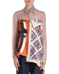 Dries Van Noten - Chors Mixed-print Foulard Cami Top - Lyst