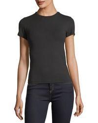 ATM - Luxury Finish Pima Cotton Jersey Tee - Lyst