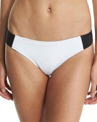 Stella McCartney - Stella Iconic Colorblock Swim Bikini Bottom - Lyst